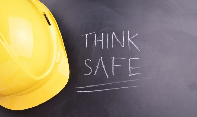Think safe, follow health and safety rules