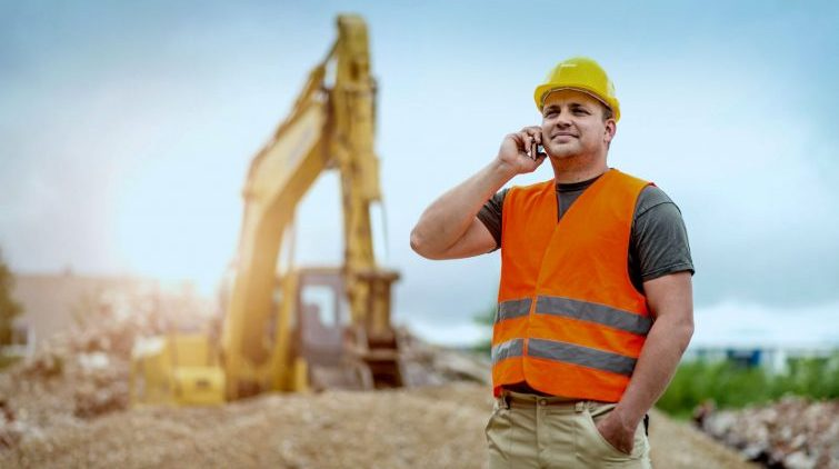 Lone worker performing check calls