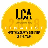 HEALTH & SAFETY SOLUTION OF THE YEAR - Badge